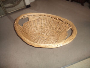 23 x 19 wicker basket --little fur babies love sleeping in these