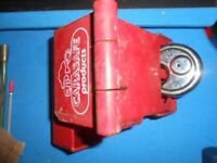 Caravan Safe hitch lock for alko hitch