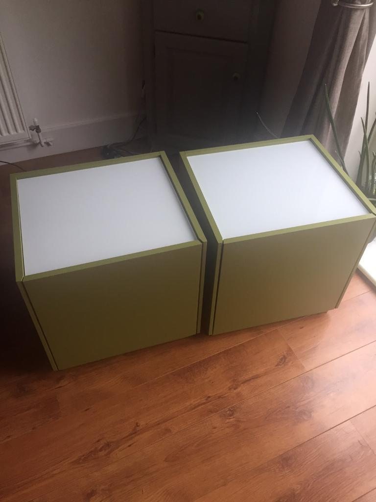2x Bedside Tables
