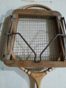 Antique badminton racket