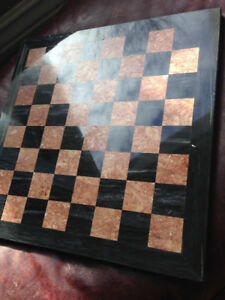 Solid Marble chess set