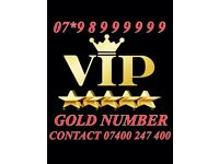 GOLD VIP MOBILE NUMBER 07*98999999