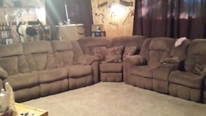 Sectional Couch - LOTS OF LIFE LEFT