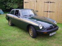 1975 MGB GT Jubilee Edition
