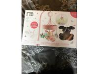 Mothercare mobile cot