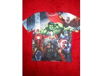 NEW - BOYS MARVEL T-SHIRT - AGE 13 YEARS