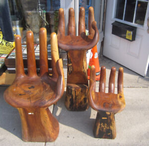 Solid Wood Hand Chairs