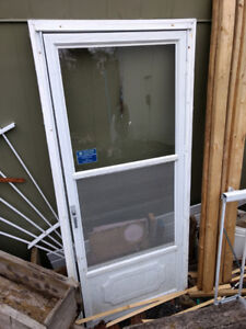 Storm Door - good for a shed or camp