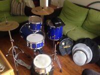 Yamaha Manu Katche signature junior/bop kit // Cymbals // extra snare // + extras // BARGAIN!!!