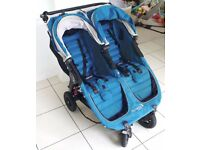Baby Jogger City Mini GT Stroller - Double, Petrol