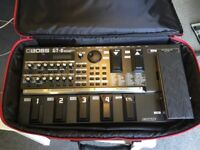 Boss GT8 Guitar effects Pedal and Roland Soft Case