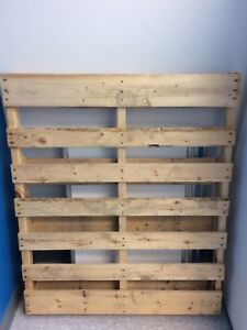"Two 48 x 40"" pallets"