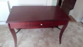 Study desk solid wood