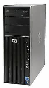 HP z400 workstation, Intel Xeon,8GB RAM, 1tb HD