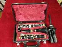 Clarinet yamaha ycl 26 ii with stand
