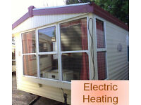 Static Caravan Atlas Debonair Super 36 x 12 ft / 3 Bedrooms, Electric Heating