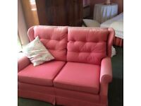 Two seat sofa and chair