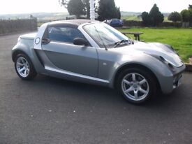 smart roadster turbo remapped to 100 bhp last owner 7 yrs