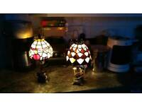 Tiffney style lamp's