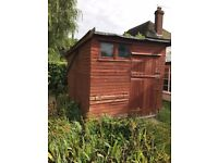 Large Garden Shed 12 ft x 8 ft sloping roof