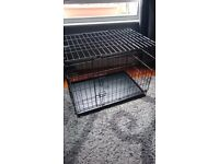 Dog crate medium double door