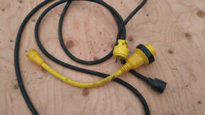 Extention cord for marine hook up