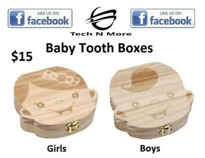 Baby Tooth Boxes(2 Options)