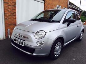 2009 59 Fiat 500 Pop+Low Miles+Full History+Cambelt not aygo c1 beetle mini a1 a3
