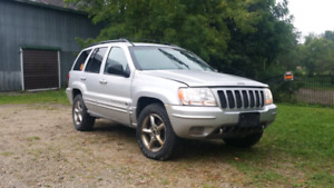 2002 Jeep Grand Cherokee Overland 1 Owner 4.7l H.O. 4x4