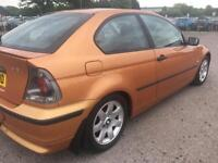 BMW 3 SERIES COMPACT 316ti (2002 Plate)