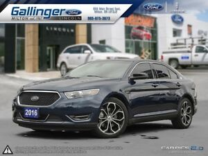2016 Ford Taurus SHO w/HEATED AND COOLED MASSAGE SEATS
