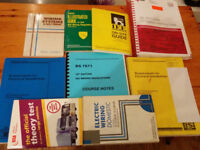 electrical work book and others