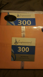 Twin size sheets new