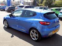RENAULT CLIO 1.2 GT LINE TCE EDC 5dr AUTO 120 BHP * Sat Nav * S (blue) 2014