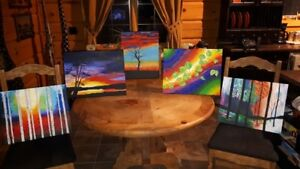 Vibrant Original Paintings