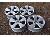"Genuine 17"" Audi A3 Alloy Wheels 2nd Generation S Line 8V0601025BK VW Golf Mk5"