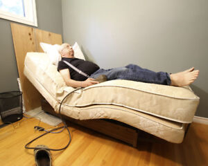 Single Bed - Adjustable Electric