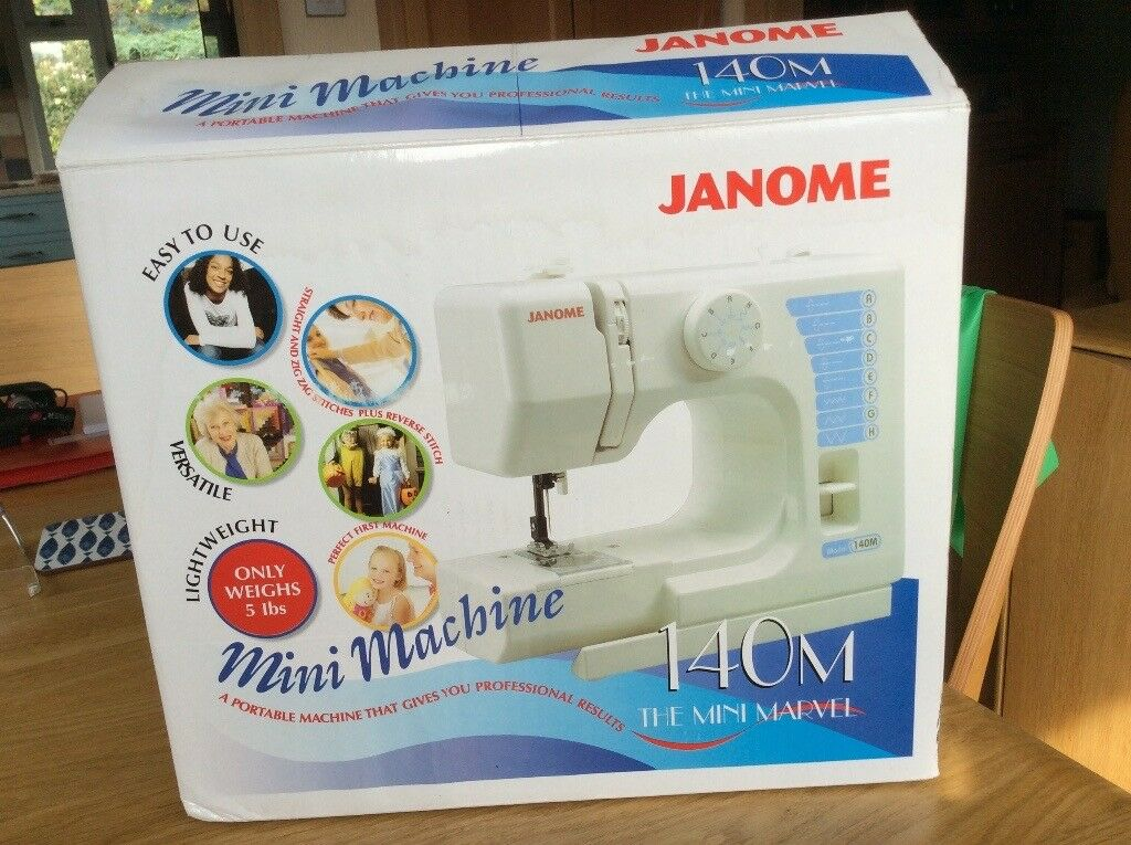 Janome 40m Sewing Machine In Truro Cornwall Gumtree Stunning Marvel Sewing Machine
