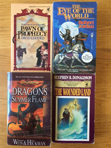 66 Classic Fantasy novels - Dragonlance, Eddings, Jordan etc