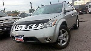 2004 Nissan Murano SL AWD, BLACK LEATHER, HEAT-SEATS