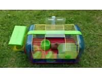 Gerbil hamster cage home set