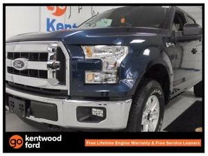 2017 Ford F-150 XLT 5.0L V8 4x4 with 6-seats, keyless entry, bac