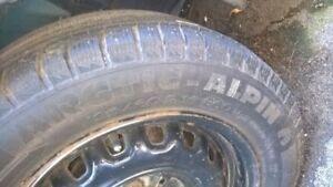 4 Michelin winter tires (off Saab)