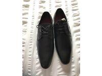 Size 9 Emilio Luca Black Men's Formal Shoes