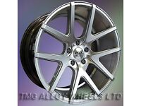 NEW 19'' AVA ROCKFORD STAGGERED ALLOY WHEELS 5X120 BMW 1 2 3 4 SERIES INSIGNIA etc