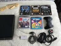Sony PlayStation 3 120gb, Instruments and Games!