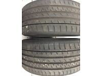 2 X 245 40 ZR 20 Continental Sport Contact 3 Tyres