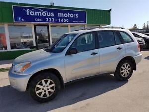 2002 Toyota RAV4,MINT CONDITION/AWD CLEARANCE TODAY $5200