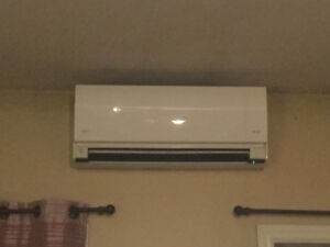 Fujitsu 15000 BTU heat pump