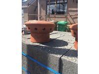 Elephants feet ( chimney pots )
